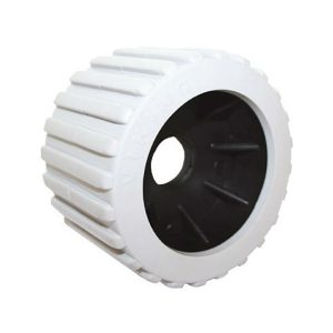 Grey ribbed wobble poly roller RWB4601