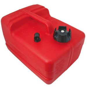 Great for outboard motors 11.4 litre plastic outboard petrol tank