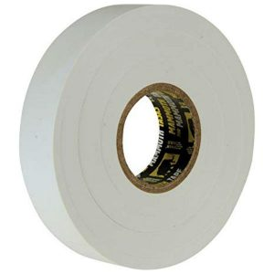 A Roll of white Mammoth PVC electrical tape
