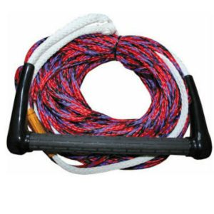 Single Sports Ski Rope Single rolled up