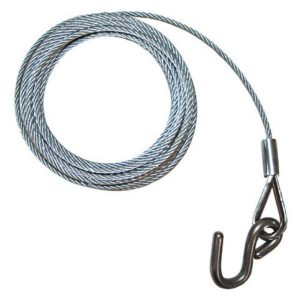 winch cable with s hook