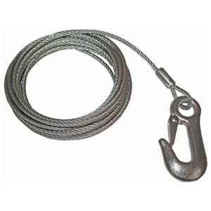 winch cable with snap hook