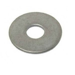 Zinc coated mudguard washers