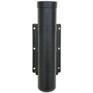black side mount fishing rod holder