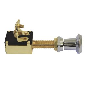 2 position brass switch push pull