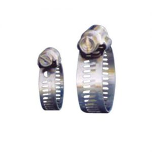 All stainless steel hose clamps in various sizes