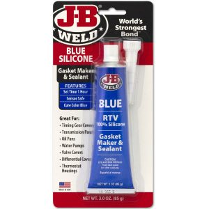 Jb Weld Gasket Maker and sealant in packaging